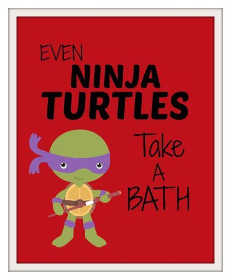teenage mutant ninja turtles bathroom decor ninja turtles bathroom prints kids bathroom prints kids