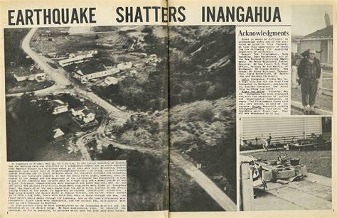 earthquake biography in hindi earthquake shatters inangahua nelson photo news no 92