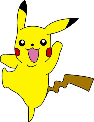 what color is pikachu pikachu coloring pages printable