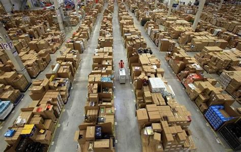 forget santa s workshop inside an amazon warehouse