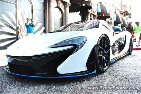 mclaren p1 spotted in beverly california on 08 01