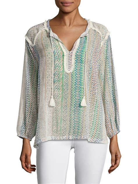 Blouse Batik O lyst antik batik cabana cotton blouse
