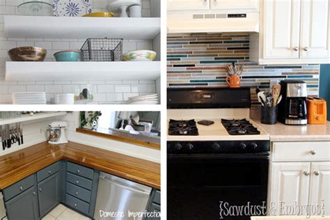 diy ideas for kitchen diy kitchen ideas easy kitchen ideas houselogic