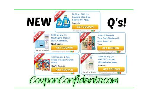 newest coupons online