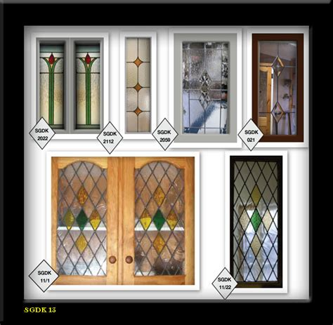 Glass Styles For Cabinet Doors Styles Glass Lead Stain Glass Cabinet Door Inserts 5