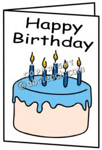 birthday card clipart