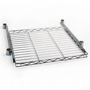 Slide Wire Shelving Wire Pull Out Shelves Sliding Shelving On Guided Track