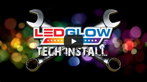 motorcycle led lights installation ledglow motorcycle installation