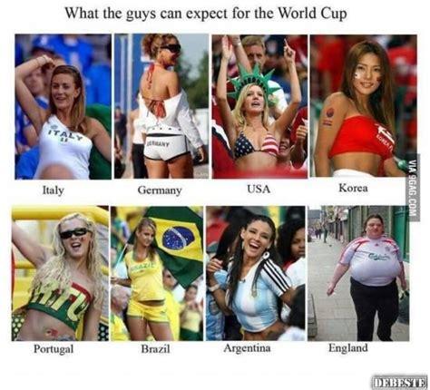 World Cup Memes - was m 228 nner von der fu 223 ball wm erwarten k 246 nnen lustige