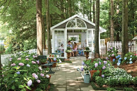 southern backyard outdoor room backyard conservatory southern living