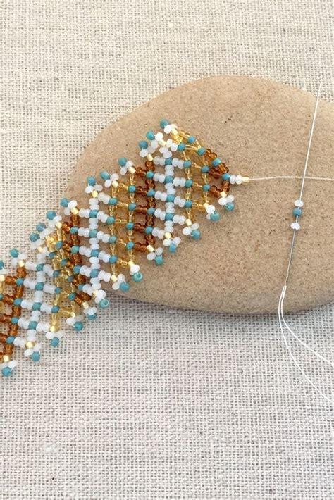 free bead weaving patterns 25 best ideas about bead weaving on seed bead