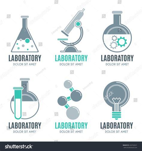 design elements lab laboratory design elements emblems symbols icons stock