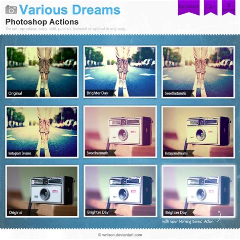 photoshop tutorial instagram filters various dreams photoshop actions by wnison on deviantart