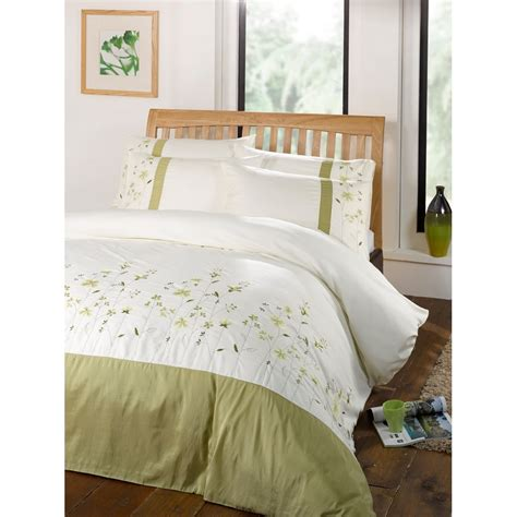embroidered bedding valentina floral patterned embroidered duvet comforter