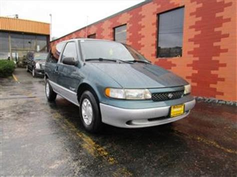 how cars run 1997 nissan quest electronic toll collection 1997 nissan quest for sale carsforsale com
