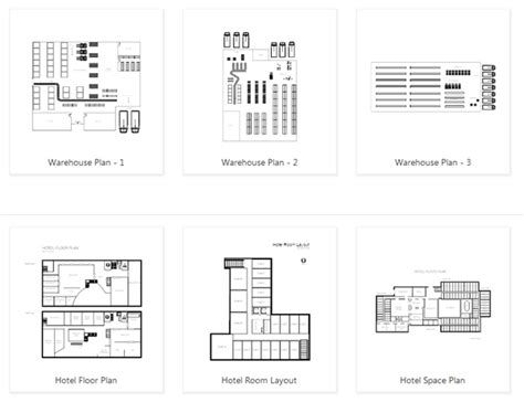 smartdraw floor plan warehouse layout design software free download