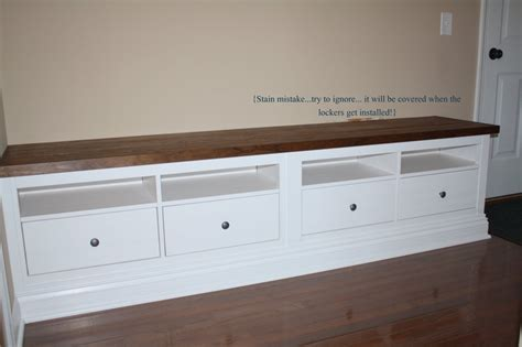 storage bench ikea hack ikea hemnes mudroom hack joy studio design gallery