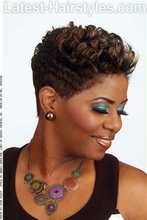 black women with short perms hairstyle 20 short hairstyles for winter to amp up your hotness