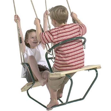 langley swing langley timber twin seat garden swings buy online from