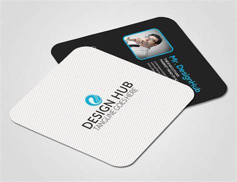 mini square business card psd templates design graphic