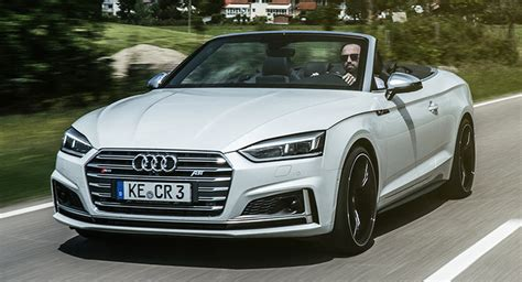 Audi S5 Cabrio Ps by Abt Pumps Up The Audi S5 Cabriolet To 425 Ps