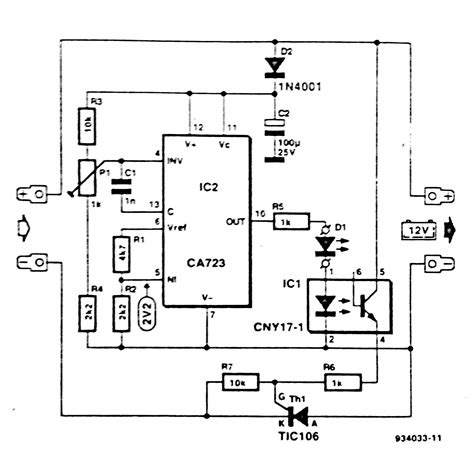 battery in a circuit diagram lead acid battery tester circuit diagram circuit and