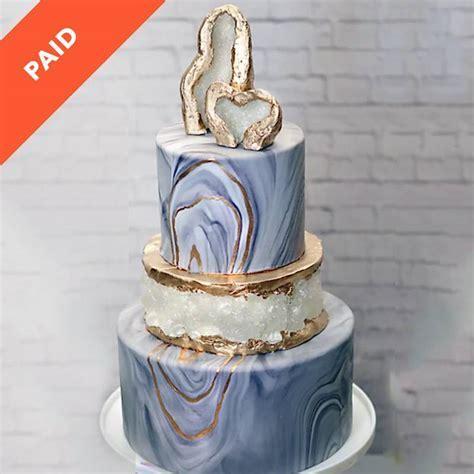 Geode Love Cake Tutorial