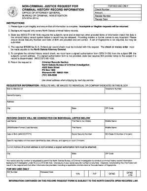 Criminal Record Form Criminal Records Fill Printable Fillable Blank Pdffiller