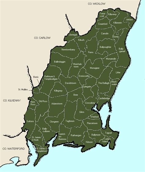map of wexford map of wexford 28 images wexford historical wexford