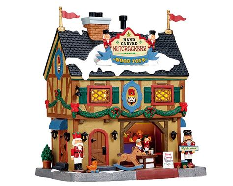 lemax village collection nutcracker wood toy carve 55994