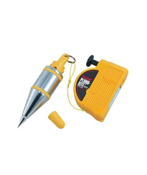 Magnetic Plumb Bob Reel by Tajima Plumb Rite Stabilizing Bob With Magnetic Reel