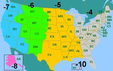 daylight savings map usa atlantic time zone map usa html atlantic usa states map
