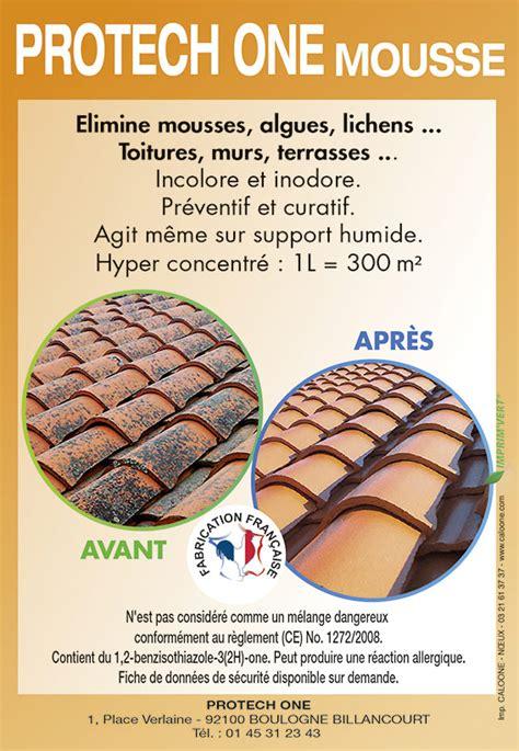 Produit Anti Mousse Professionnel 7462 by Protech One Mousse Produit Antimousse Pour Toit Et