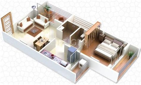 1 gaj in sq feet 650 sq ft 1 bhk floor plan image gaj avenue available