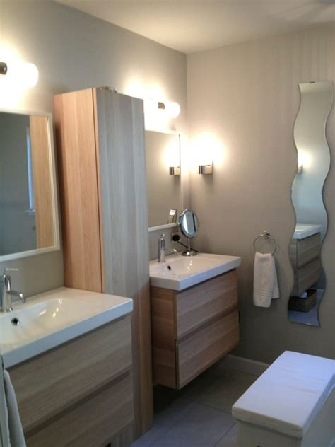 bloombety ikea bathroom vanities design ideas with dual room by room renovation of 1975 home eclectic bathroom