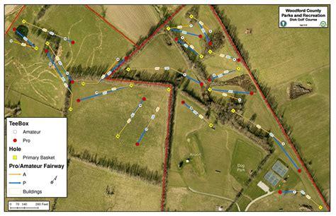 kentucky golf map graviss mcdonald s disc golf course professional disc