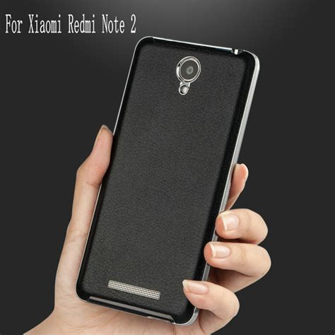 Xiaomi Redmi Note 2 Leather Back Cover Casing Kulit for xiaomi redmi note 2 ultra thin leather for xiaomi redmi note 2 battery back cover