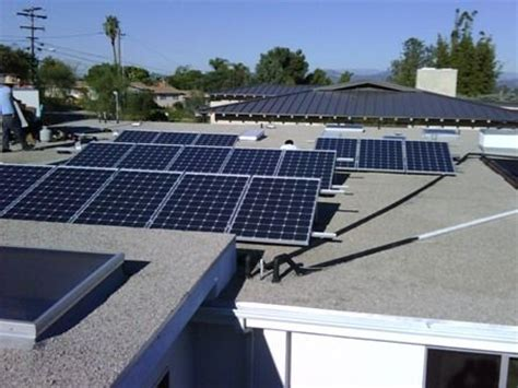 tilted roof our residential flat roof solar systems can 3 92 kw flat roof tilt mounted solar panel system by