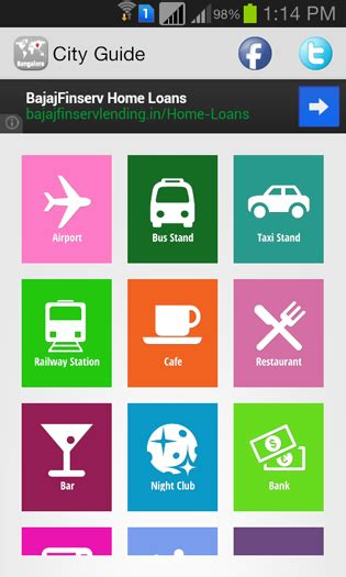 android app layout guide screenshots city guide android app mobile app