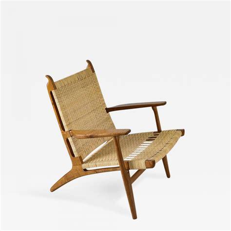 hans wegner hans wegner ch  lounge chair
