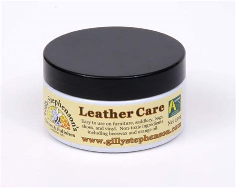Leather Sofa Care Products Gardensonline Leather Care Gilly Stephensons