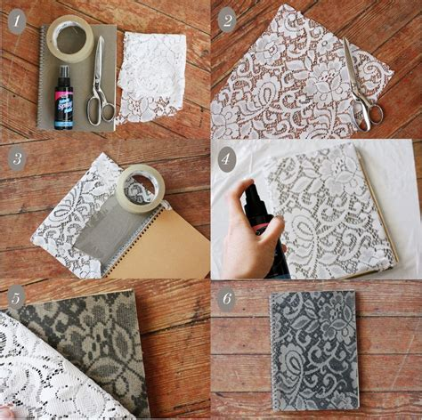 lace crafts projects 30 terrific spray paint diy projects just imagine