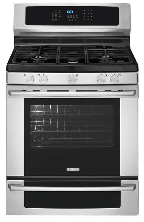Oven Gas Electrolux electrolux ei30gf35js 5 0 cu ft freestanding gas range w iq touch controls stainless