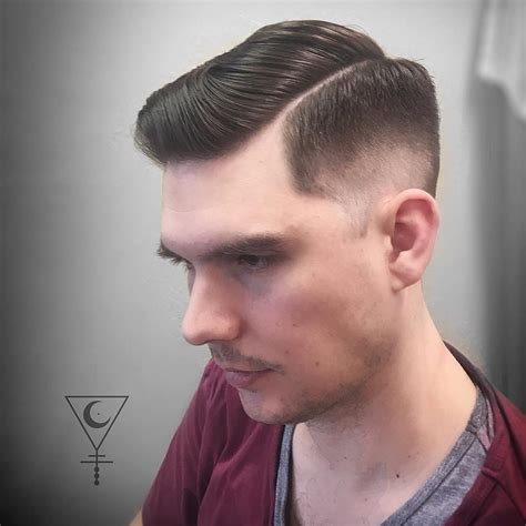 shaved part haircut men cool side part haircuts to get in 2018
