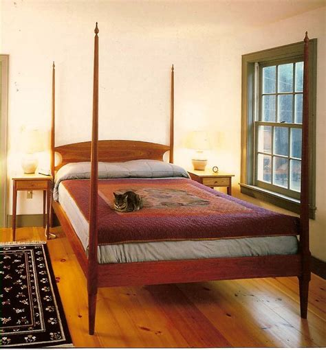 beds with posts handmade shaker furniture mission furniture custom beds