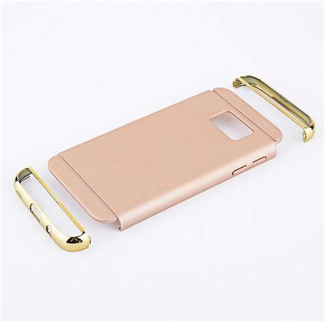 Sarung Hardcase Motomo Ino Metal Aluminium Apple Iphone 6g Plus removable 3 in 1 electroplating plastic 360 degree protection cover for