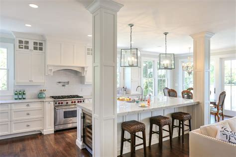 kitchen island with structural post kitchen islands with post support column in kitchen island kitchen contemporary with shaker