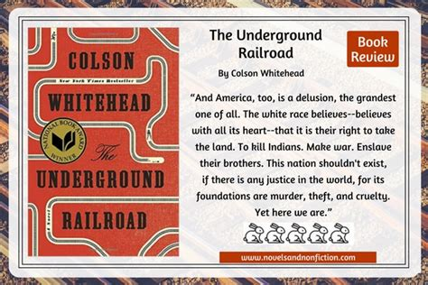 libro the underground railroad winner just read the underground railroad by colson whitehead 2016 nationalbookaward winner