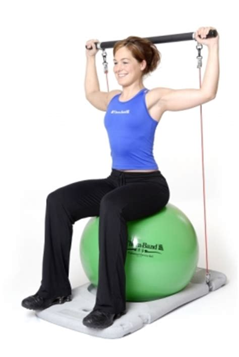 thera band exercise station sport tiedje