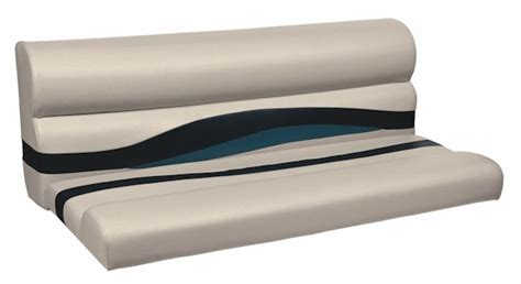 replacement pontoons for pontoon boats pontoon boat seat bench 50 quot replacement cushion